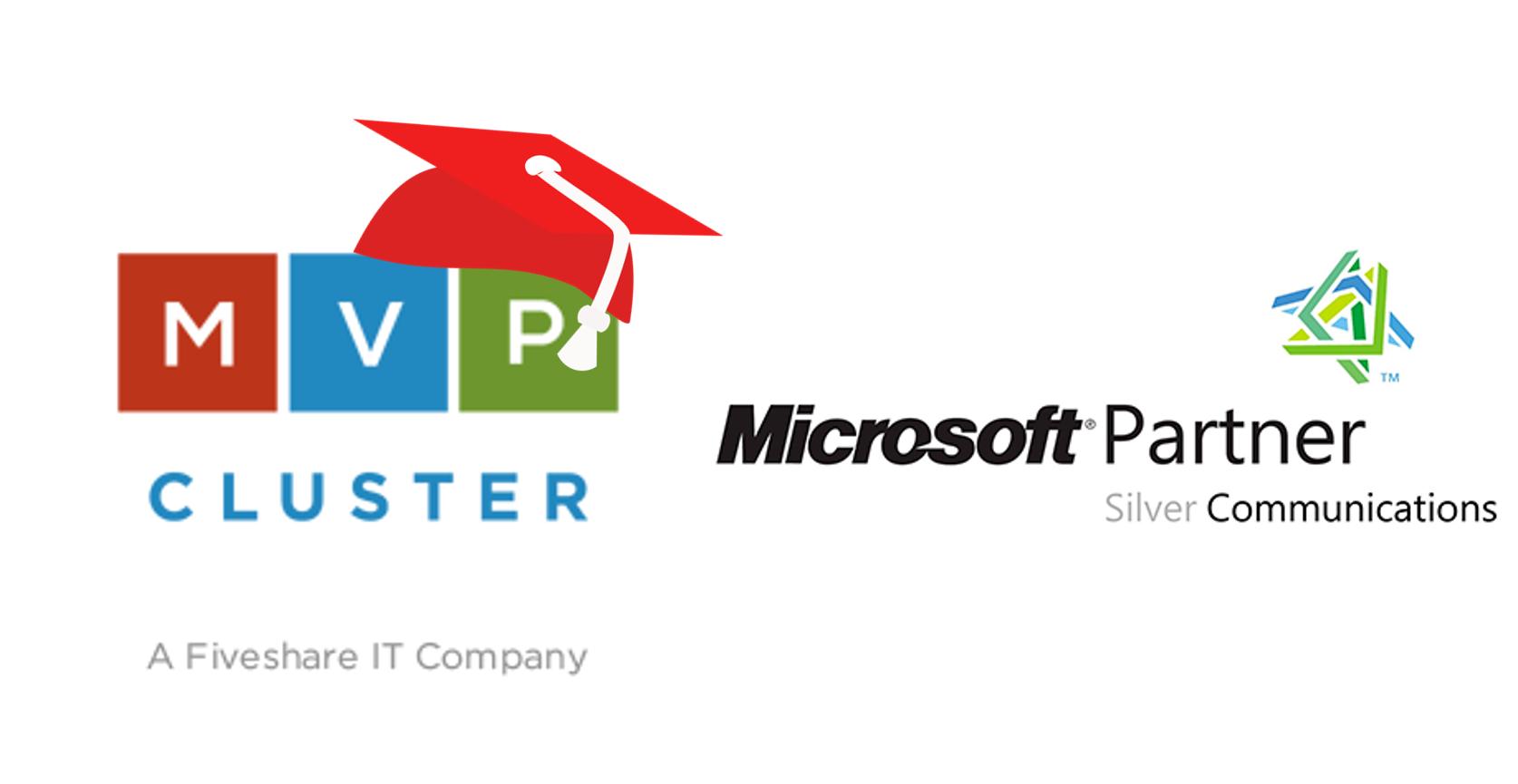 MVP CLUSTER ha conseguido la certificación como Microsoft Partner in Silver Communications.