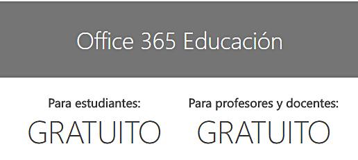 Educación gratuito docentes y alumnos