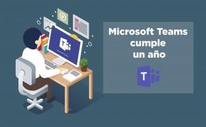 Microsoft celebra el primer año de Teams incluyendo Comunicación Inteligente