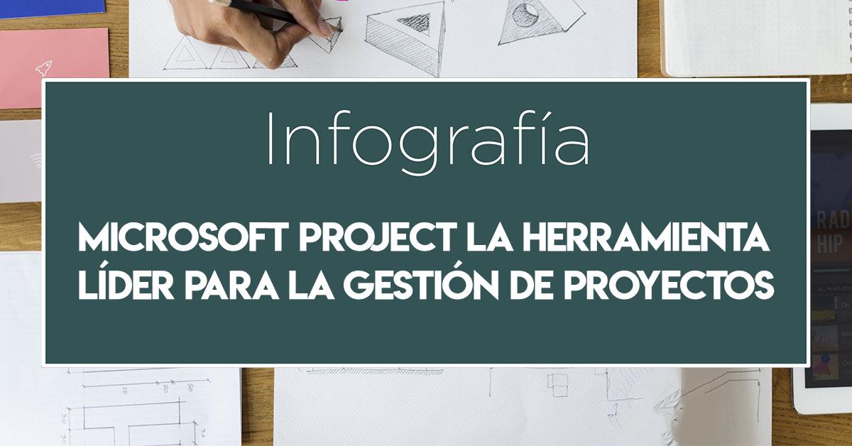 Infografía Microsoft Project