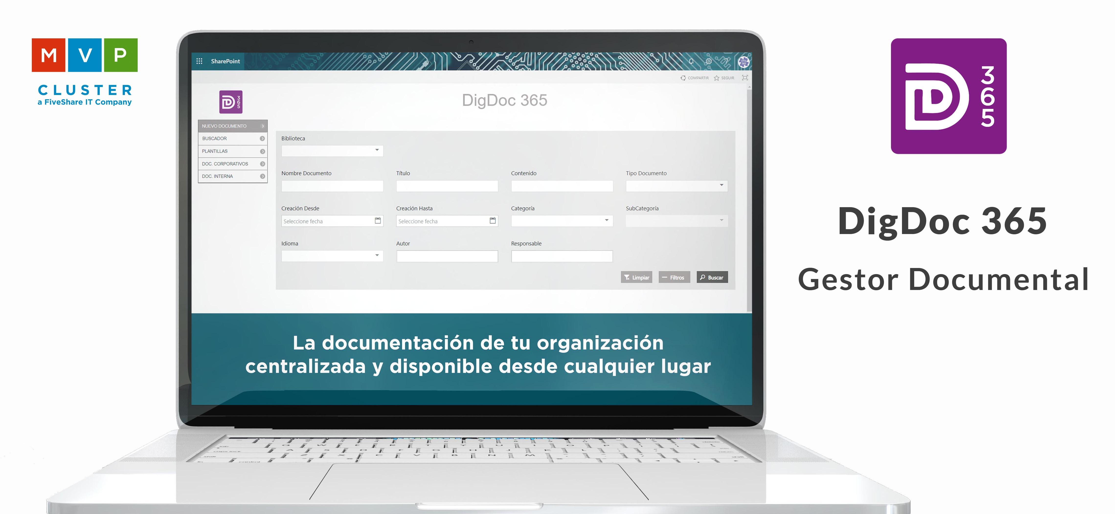 DigDoc 365 Gestor Documental